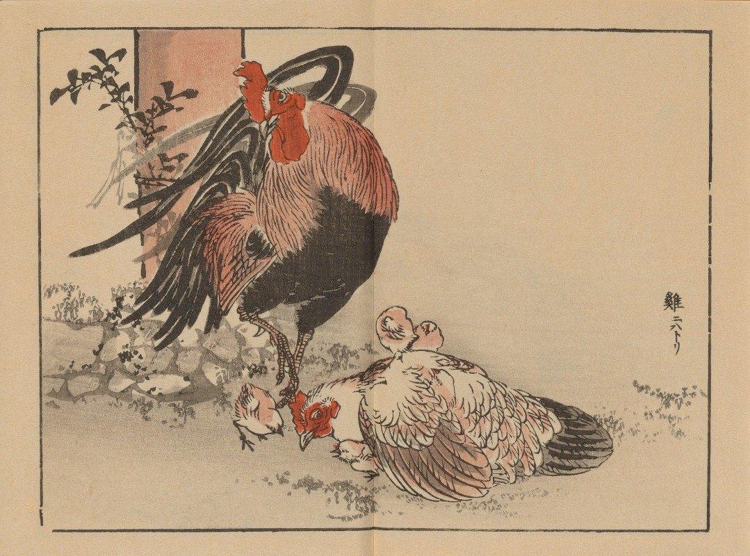 Kōno Bairei - Bairei gafu, Pl.03