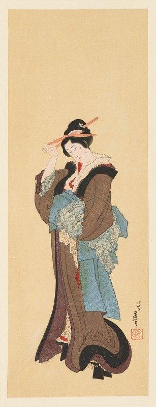 Shiichi Tajima - Masterpieces selected from the Ukiyoyé School, Pl.31
