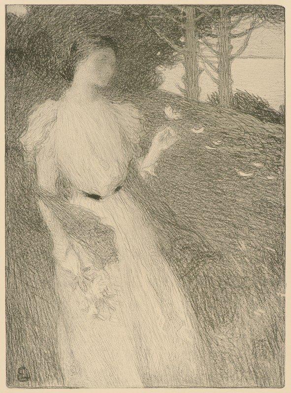 Ernest Joseph Laurent - Evening in October (Soir d'Octobre)