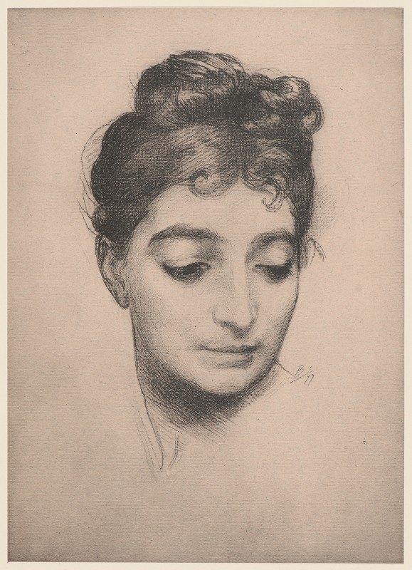 Félix Bracquemond - Portrait