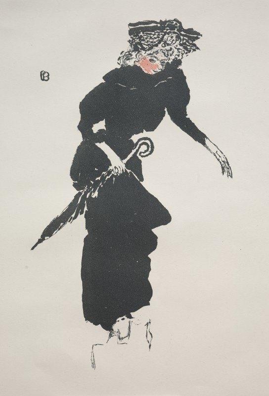 Pierre Bonnard - Woman With An Umbrella