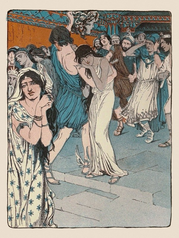 Maud Hunt Squire - As he spoke Phineus and all his men-at-arms stopped short