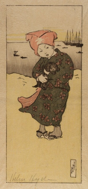 Helen Hyde - On the Bund at Tokyo
