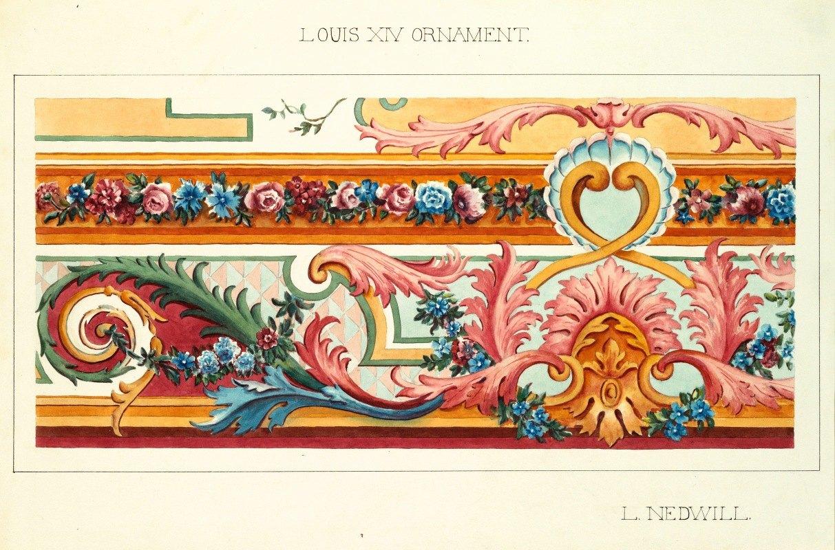 Elizabeth A. Nedwill - Louis XIV Ornament