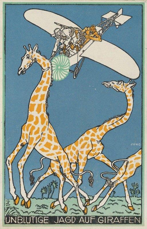 Moriz Jung - Bloodless Giraffe Hunt (Unblutige Jagd auf Giraffen)