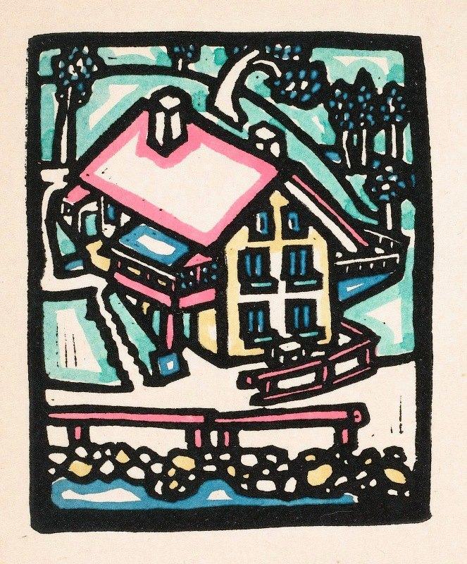 Reijer Stolk - Huis op een heuvel