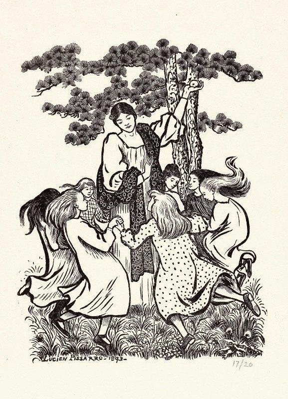 Lucien Pissarro - Rondedans