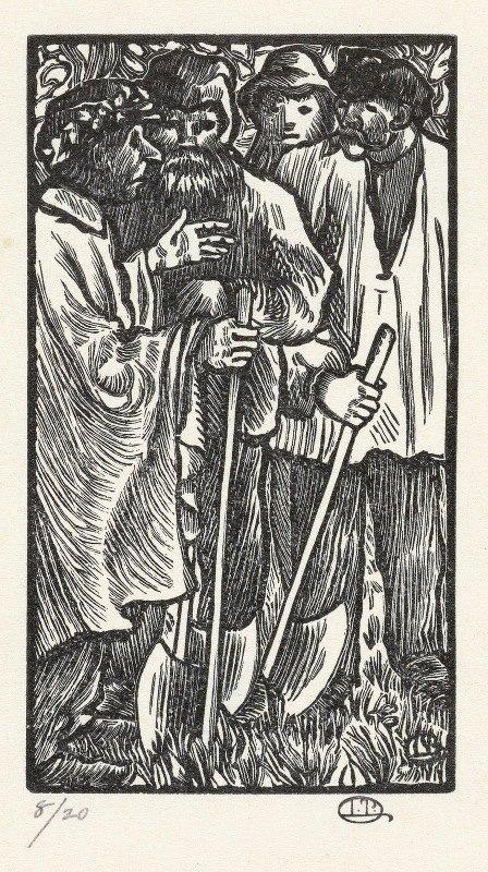 Lucien Pissarro - Houthakkers