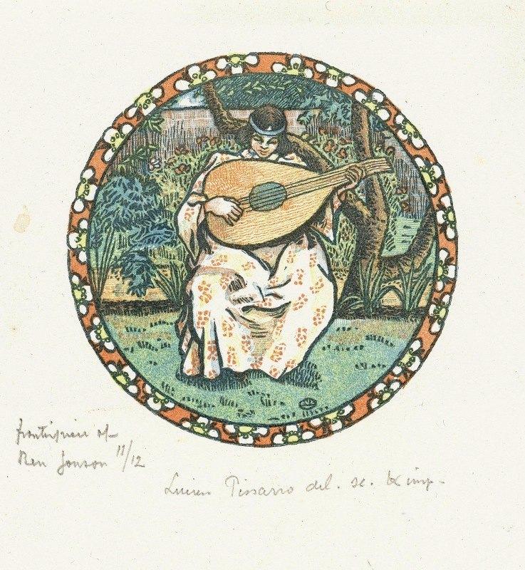 Lucien Pissarro - Luitspeler