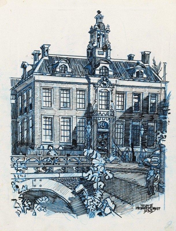 Martin Monnickendam - Stadhuis te Edam