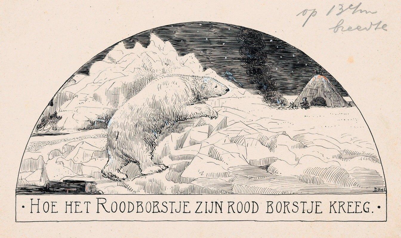 D. Viel - IJsbeer op een ijsschots