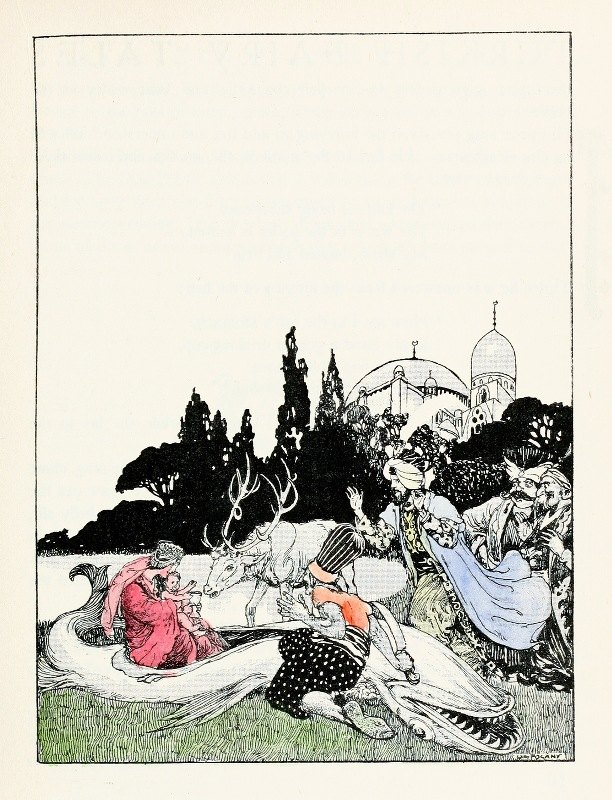 Willy Pogany - Forty-four Turkish fairy tales Pl 03