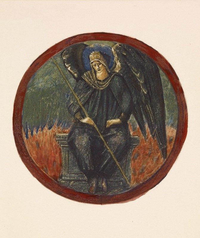 Sir Edward Coley Burne-Jones - Black Archangel
