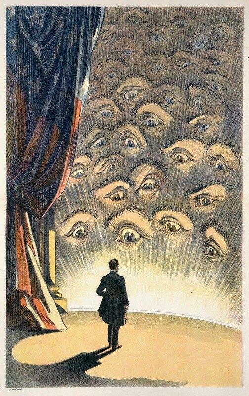 Udo Keppler - All eyes are on you, Mr. President