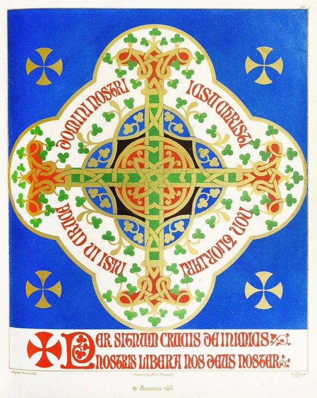 Augustus Pugin - A floriated Cross