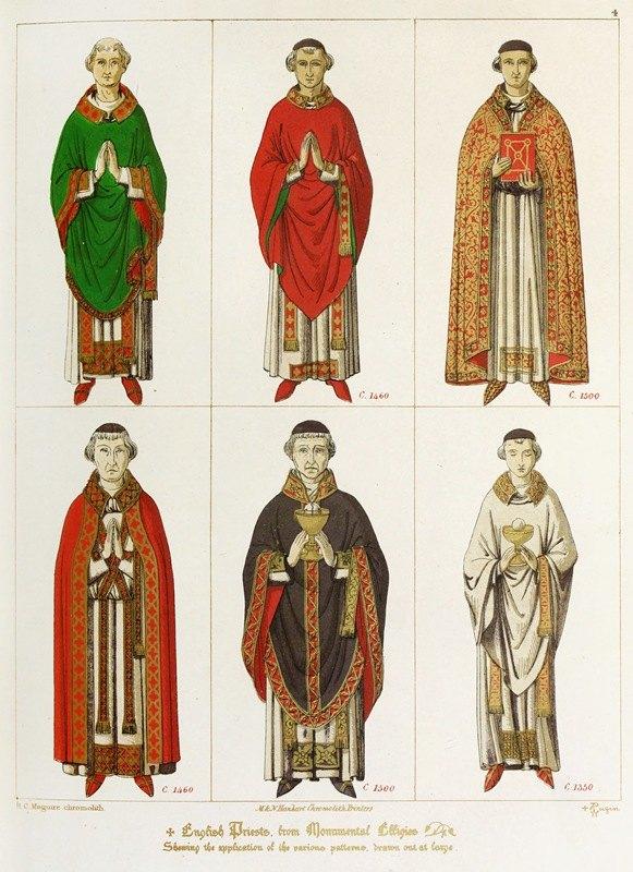 Augustus Pugin - English Priests