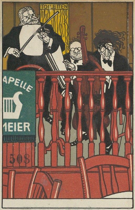 Moriz Jung - Salon Orchestra Meier