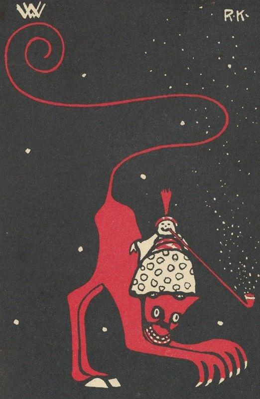 Rudolf Kalvach - Humorous Subject