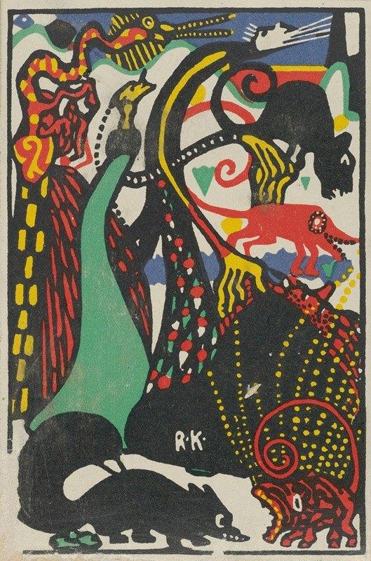 Rudolf Kalvach - Humorous Subject 2