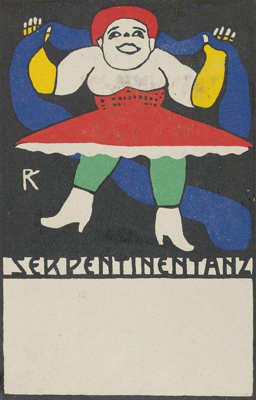 Rudolf Kalvach - Serpentine Dance (Serpentinentanz)