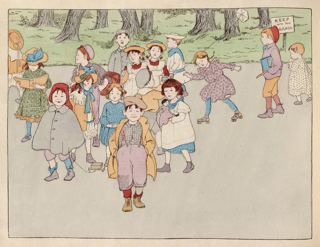 Ethel Mars - Children of our town pl 2