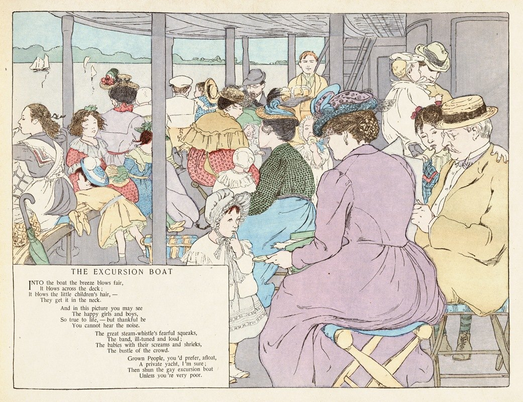 Ethel Mars - The Excursion Boat