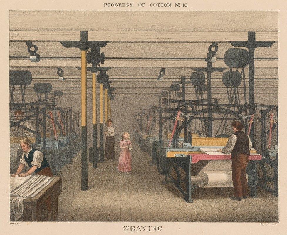 James Richard Barfoot - Progress of Cotton; #10 –Weaving
