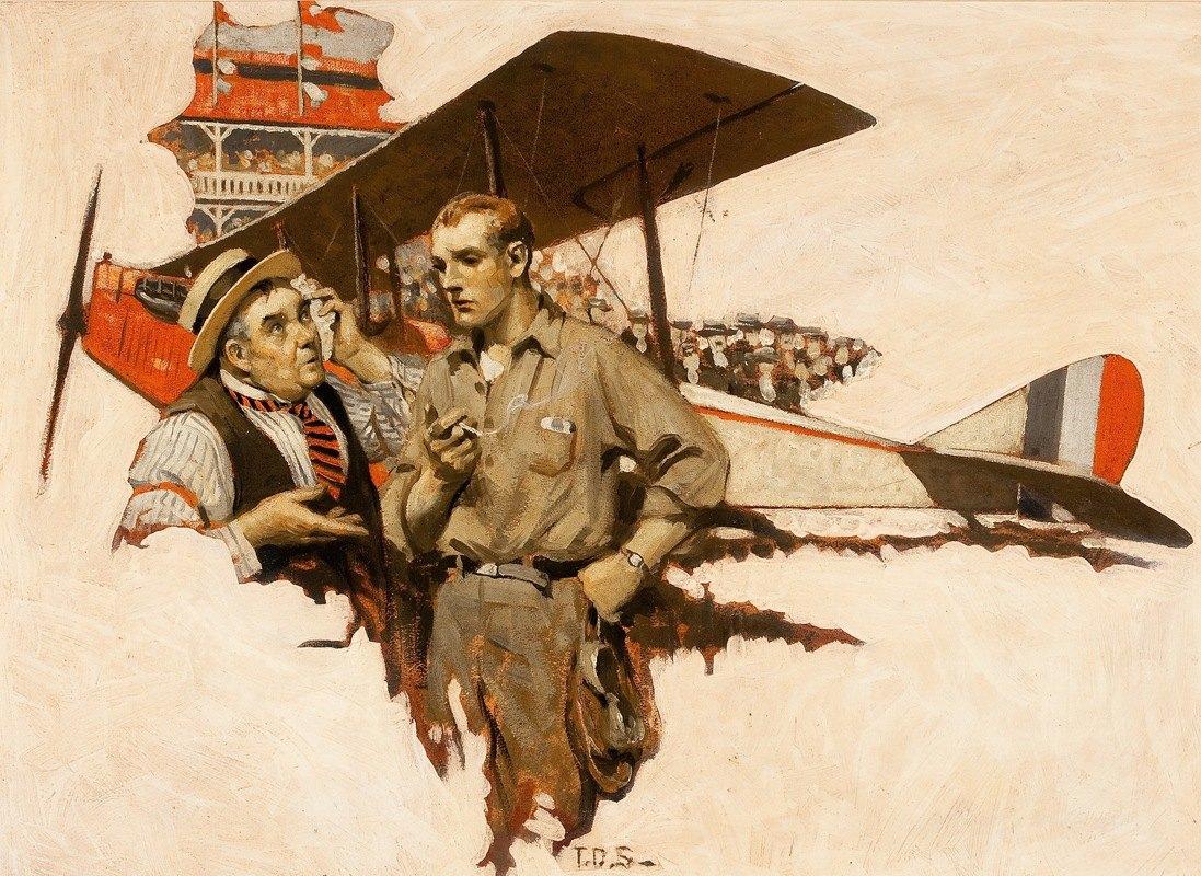 Thornton D. Skidmore - The Air Show Hero