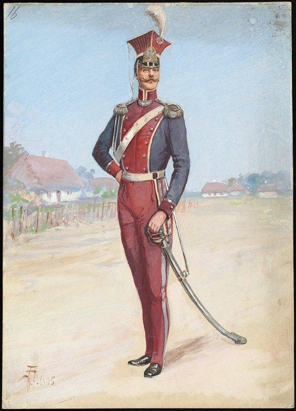 W. Fasienski - Unidentified Italian opera costume design plate 16