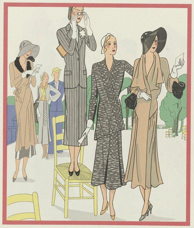 Anonymous - Art – Goût – Beauté, Feuillets de l' élégance féminine, Mai 1931, No. 129, 11e Année, p. 23