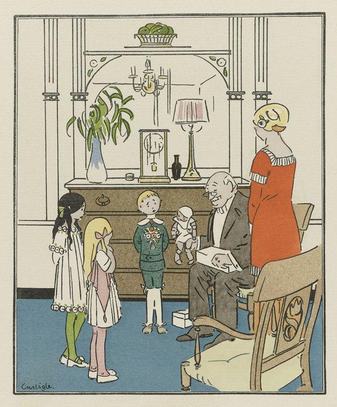 Charles-Emile Carlègle - Le Bon Oncle ; Costumes d'enfants