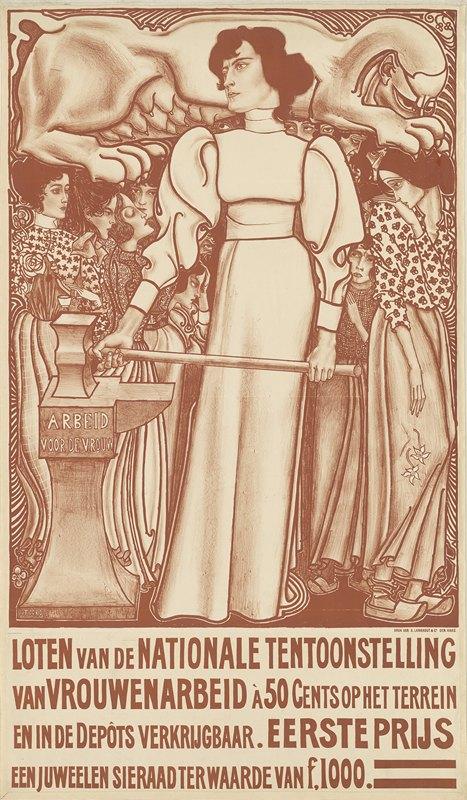 Jan Toorop - Arbeid voor de vrouw